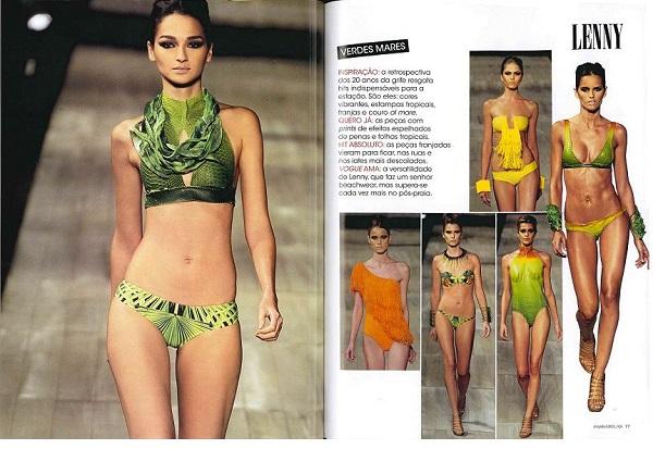 Vogue passarelas -- Agosto 2011