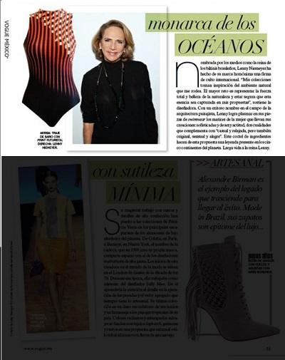 Vogue México -- Junho 2014